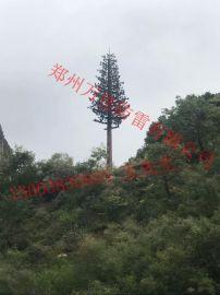 10米仿生松树避雷塔,15米仿真松树通讯塔基站