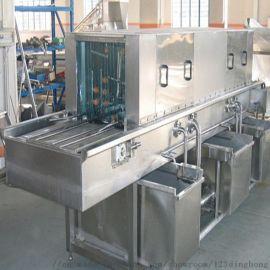 周转筐清洗机 热水高压喷淋清洗机 全自动洗筐机