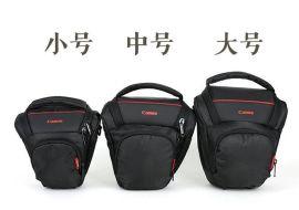 深圳订做单反相机包单肩摄影包斜跨帆布佳能相机包单反单肩包