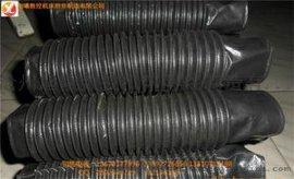 汕头加工批发伸缩式丝杠防护罩/耐高温尼龙布油缸伸缩套热销