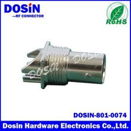 德索DOSIN-801-0074BNC板端母头,,BNC JACK PCB安装75欧姆卡板视频接口