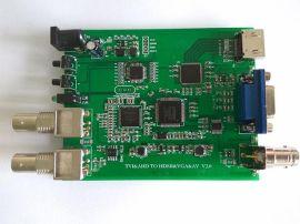 欧柏锐科技AHD/TVI/CVI转HDMI/VGA/   视频转换器
