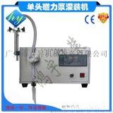 供应小型台式磁力泵液体灌装机