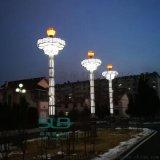 廣場景觀燈特色道路燈圖樣定製戶外燈廠家新中式燈柱