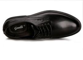 固宜鞋跟不磨损皮鞋,真皮商务正装皮鞋