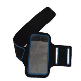 跨境定制手機運動臂帶跑步手機套手機臂帶包跑步手機臂包
