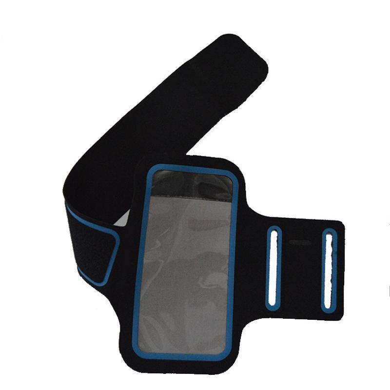 跨境定製手機運動臂帶跑步手機套手機臂帶包跑步手機臂包