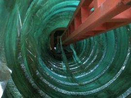 玻璃钢化粪池缠绕机整体成型模具