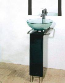 玻璃台盆(B-016)
