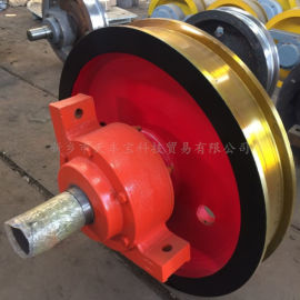 φ250小车车轮组 天车起重配件车轮组 水平轮