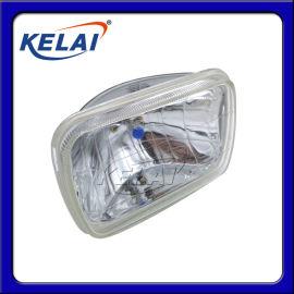 KELAI   7寸方氙气水晶灯真空灯12V24V汽车射灯