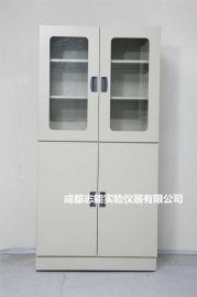 四川成都全钢实验台柜厂家 定做通风药品柜全钢试剂柜