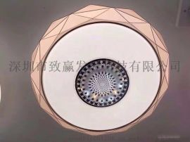致贏特價直銷LED吸頂燈400MM正暖白質保三年