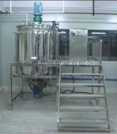 3T蒸汽加热搅拌罐(316L不锈钢)