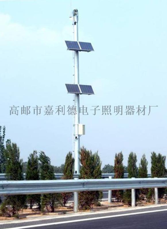 太阳能监控杆,江苏扬州太阳能电子警察杆生产厂家