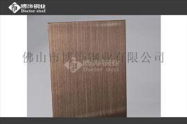 304不锈钢亮光古铜拉丝板,不锈钢抗指纹