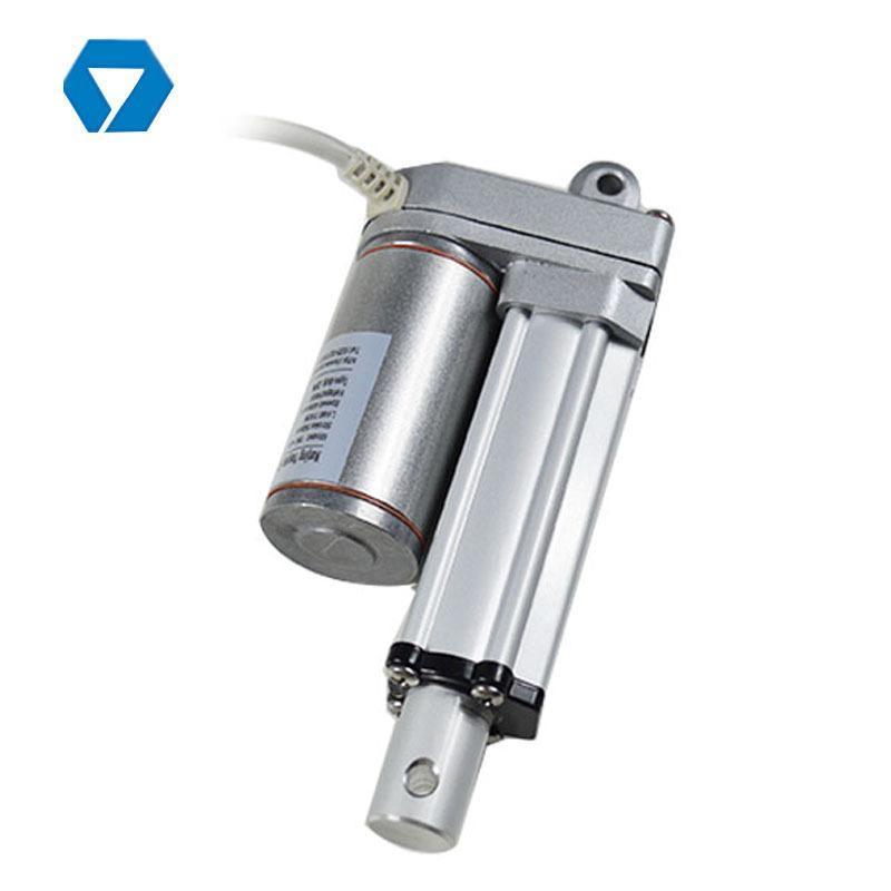 螺桿式電缸 行程 微型 小型 直流電缸馬達 直線推拉 升降驅動