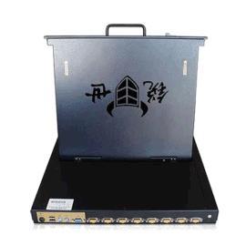 CS-1908高清19寸8口KVM切换器一体机液晶显示器