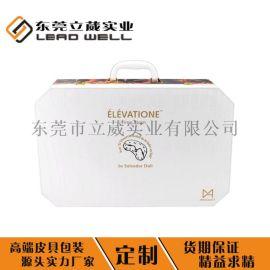 名贵礼品包装盒  品  礼盒燕窝皮盒定制logo