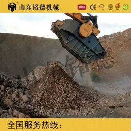 甘肃20吨级挖掘机破碎斗、鄂式破碎斗