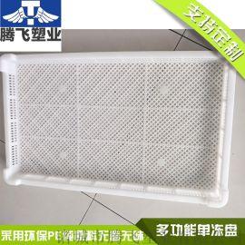 塑料单冻器塑料烘烤盘蝴蝶面海参冷冻烘干食品级托盘
