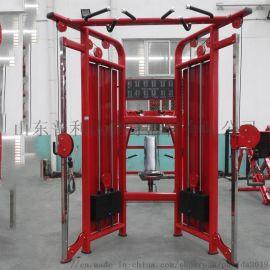 小飞鸟龙门架综合训练器 商用史密斯器械