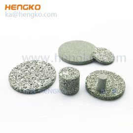 厂家孔隙均匀防水防锈不锈钢粉末冶金过滤芯