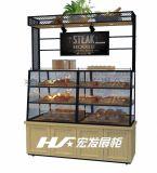 面包边柜-面包展示柜生产厂家--宏发展柜