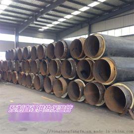 聚氨酯预制无缝保温管,聚氨酯自来水保温管
