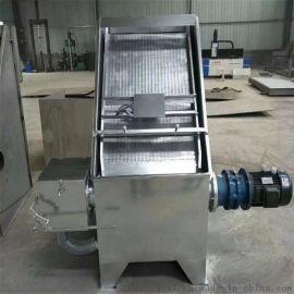 斜筛式猪牛羊脱水机 性能稳定钢螺旋压榨