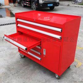 供应移动工具车 铁质工具柜 6抽工具柜厂家