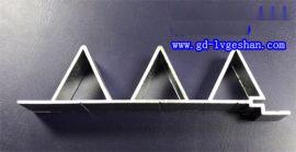 营口异形铝型材 无缝挤压铝管 铝合金型材厂家