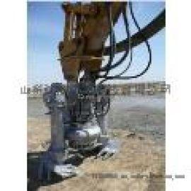 湖南挖机液压砂浆泵  挖掘机清淤泵  挖掘机渣浆泵