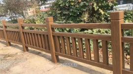 **西水泥仿木栏杆优点 **景观仿木护栏施工制作