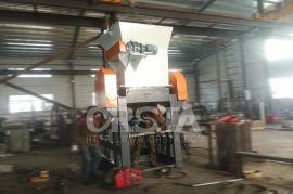 东莞机械专业塑料破碎机,900型自压矿泉水瓶破碎机