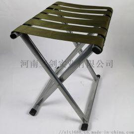 排队马扎不锈钢尼龙面凳钓鱼凳烧烤凳