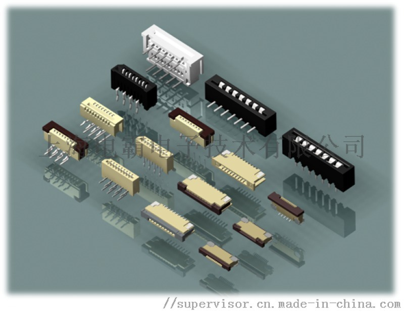 CVILUX瀚荃FFC/FPC连接器座子0.3MM|0.5MM|1.0MM|1.25MM|2.54MM