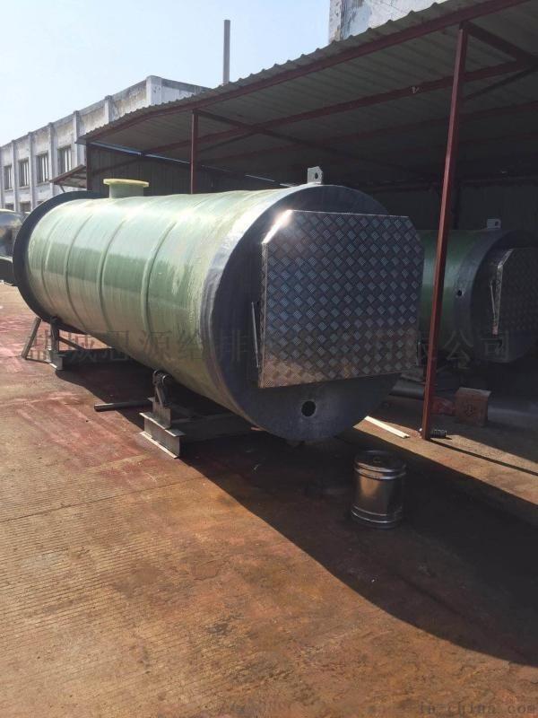 上海市地埋式一体化预制泵站的安装事项