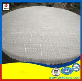 吸收塔水洗层250Y塑料孔板波纹填料烟气脱硫填料