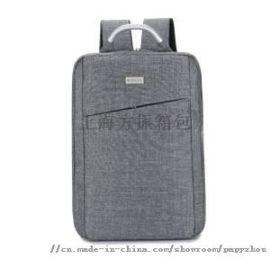 上海箱包定制牛津布双肩电脑背包 来图打样
