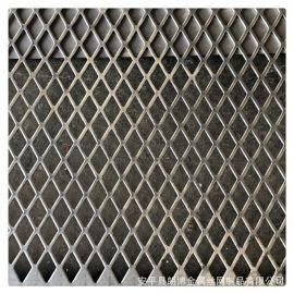 定做金属板冲孔网 菱形孔不锈钢机械设备防护冲孔板