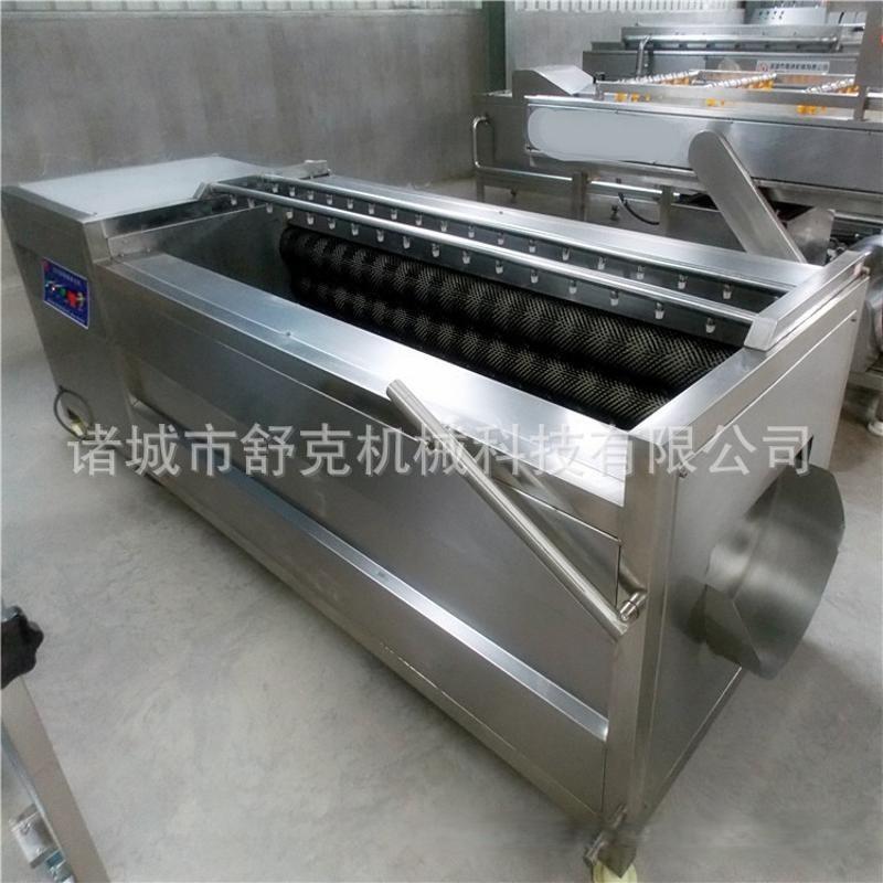 爆款毛辊清洗机 平行多毛刷定制款土豆清洗机 小型净菜加工机器
