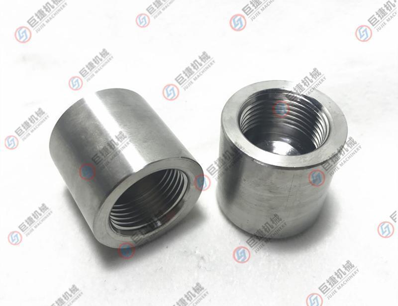 不锈钢焊接底座 温度表焊接头 双金属温度计 仪表接头 螺纹M27*2