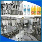 飲料自動灌裝機 三合一灌裝飲料機械 廠家供應瓶裝生產線飲料機