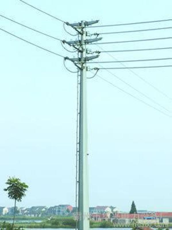 钢管杆 35KV电力钢杆、高尔夫球场网杆及电力钢杆打桩车改造