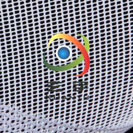 1000D方格網布箱包面料透氣窗PVC網眼