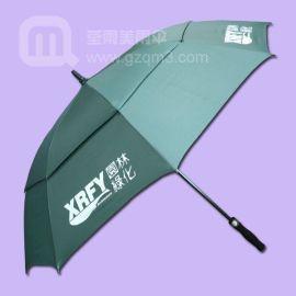 园林绿化双层高尔夫雨伞