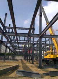 地铁钢结构钢围檩钢结构厂房施工