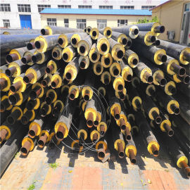 阳泉 鑫龙日升 聚氨酯发泡保温螺旋钢管dn800/820温泉地埋保温管