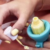 指甲油瓶套 穿戴式矽膠瓶套 穿戴式指甲油瓶支架